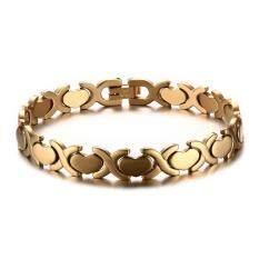 ขาย 316L Stainless Steel Women S Bracelet Love Heart Gold Color Hand Chain Intl Unbranded Generic