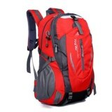 โปรโมชั่น 35ลิตรกระเป๋าเป้กลางแจ้งสำหรับเดินป่า และการตั้งแคมป์ สีแดง Unbranded Generic ใหม่ล่าสุด