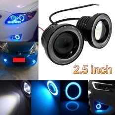 ส่วนลด 3 5 Inch 30W Cob Led Fog Light Projector Car Ice Blue Halo Angle Eyes Ring Bulb Intl จีน