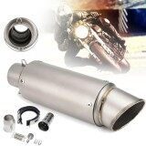 ขาย 38 51Mm Universal Stainless Steel Motorcycle Exhaust Muffler Pipe Kit Intl แองโกลา ถูก