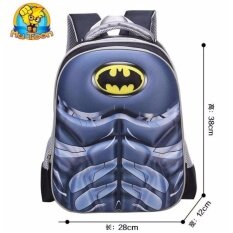 ราคา กระเป๋านักเรียน กระเป๋าเป้เด็ก 3D ลายซุปเปอร์ฮีโร่ ออนไลน์