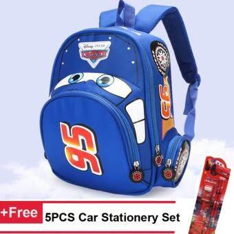 25312d9c88 รถยนต์ 3D เด็กกระเป๋าเป้สะพายหลังโรงเรียนสีแดงสาวเด็กชายถุงของขวัญวันเกิด –  intl