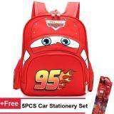 ราคา รถยนต์ 3D เด็กกระเป๋าเป้สะพายหลังโรงเรียนสีแดงสาวเด็กชายถุงของขวัญวันเกิด Intl ถูก