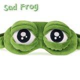 ขาย ซื้อ 3D Sad Frog Sleep Mask Rest Travel Relax Sleeping Aid Blindfold Ice Cover Eye Patch Sleeping Mask Case Anime Cosplay Costumes Intl