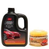 ขาย 3M ผลิตภัณฑ์ล้างรถผสมแว๊กซ์ 1ลิตร ผลิตภัณฑ์แว๊กซ์เคลือบเงาสีรถ 220 กรัม Cream Wax Gloss N Shine Booster Car Wash With Wax ไทย