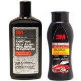 โปรโมชั่น 3M แชมพูล้างรถ และ 39026 Car Liquid Wax แว๊คเคลือบเงา ขนาด 473 Ml ไทย