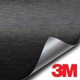 ซื้อ 3M Wrap Film Series 1080 สติ๊กเกอร์ติดรถแบบบรัชสีดำ 30Cm X30Cm