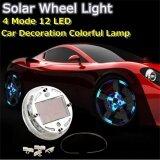 ส่วนลด 4 Modes 12 Led Car Solar Energy Wheel Tire Rim Light Lamp Flash Decoration Intl Unbranded Generic จีน