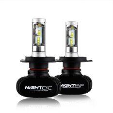 ราคา 4000Lm H4 9007 Car Auto Led Front Headlight Replace Lamp Bulbs Beam Bright Intl ใหม่