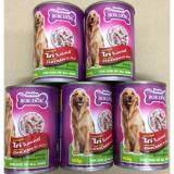 ราคา อาหารสุนัข ทำจากไก่ในเยลลี่400กรัม5กระป๋อง ทุกช่วงวัย Bokdok เป็นต้นฉบับ