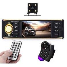ราคา 4019B 4 1 1 Din Bluetooth Car Radio Audio Stereo Player With Camera Intl ใหม่