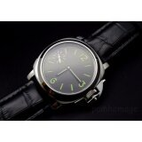 ราคา 44Mm Parnis 6497 Seagull Hand Wind Mechanical Sandwich Dial Mens Wrist Watch Intl Parnis จีน