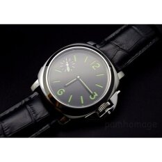 ซื้อ 44Mm Parnis 6497 Seagull Hand Wind Mechanical Sandwich Dial Mens Wrist Watch Intl ออนไลน์