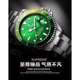 ขาย นาฬิกา 2018 สปอร์ตหน้าเขียว เท่ ยุค4G กันน้ำ กันรอย Green Men Watches Tevise Automatic Mechanical Watch Luxury Brand Waterproof Luminous ออนไลน์