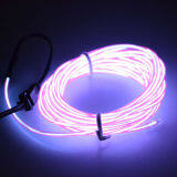 ขาย 4M Led Light Glow Flat El Wire Strip Rope Tube Car Dance Party Usbcontroller Purple Color Intl Possbay ผู้ค้าส่ง