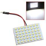 ซื้อ 4Pcs T10 Ba9S Festoon Dome 48 Smd Led Car Light Panel Dc12V White Intl Unbranded Generic เป็นต้นฉบับ