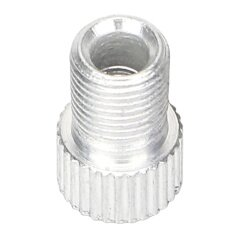 5 Piece Presta To Schrader Tube Cap Pump Connector Adapter Valve Car Auto Bicycle Bike White By Youshizhi.