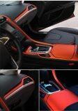 ซื้อ 50 152Cm Car Sticker Fiber Color Change Film Vinyl Wrapping Plating Matte Chrome Ice Film Waterproof Car Motocycle Phone Laptop Unbranded Generic