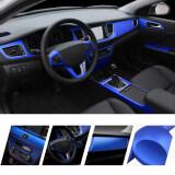 ราคา 50 152Cm Car Sticker Fiber Color Change Film Vinyl Wrapping Plating Matte Chrome Ice Film Waterproof Car Motocycle Phone Laptop ถูก