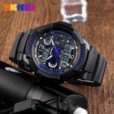 ซื้อ เด็กนาฬิกายี่ห้อ นาฬิกาสปอร์ต 50 เมตรกันน้ำแฟชั่นสบาย ๆ ควอตซ์ดิจิตอลนาฬิกาชายสาว Led มัลติฟังก์ชั่น Wristwatches 1060 นานาชาติ ใน จีน