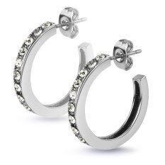 ราคา 555Jewelry 316L Earringsต่างหูห่วง รุ่นSser 005Wh สีSteel ต่างหู ต่างหูแฟชั่น ต่างหูหนีบ ต่างหูทอง ต่างหูเงิน ต่างหูผู้หญิง 555Jewelry เป็นต้นฉบับ