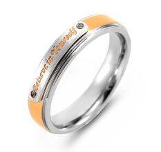 ราคา 555Jewelry 316L Ring แหวน รุ่น Mnr 193T C Pink Gold Steel แหวนผู้หญิง แหวนคู่ แหวนคู่รัก เครื่องประดับ แหวนผู้ชาย แหวนแฟชั่น ใหม่