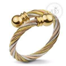 โปรโมชั่น 555Jewelry แหวนดีไซน์เก๋ Free Size รุ่น Mnc R730 Mt สี ทอง สตีลเงิน แหวนปรับไซส์ได้ ปรับขนาดได้แหวนผู้หญิง แหวนคู่ แหวนคู่รัก เครื่องประดับ แหวนผู้ชาย แหวนแฟชั่น