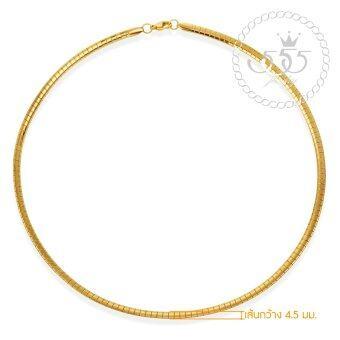 555jewelry สายสร้อยคอ แบบ Collar สแตนเลสสตีล รุ่น MNC-N206-B (สี ทอง) สร้อยเปล่า สร้อยคอ สร้อยคอผู้ชาย สร้อยคอแฟชั่น สร้อยคอสแตนเลส สร้อยสแตนเลส สร้อยแฟชั่น