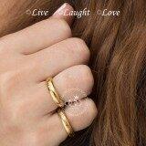 ซื้อ 555Jewelry แหวนสแตนเลสสตีล ดีไซน์เก๋รอบวง ประดับ Cz เรียบหรู Live Laugh Love รุ่น Mnr 357T B สีทอง แหวนผู้หญิง แหวนคู่ แหวนคู่รัก เครื่องประดับ แหวนทองผู้หญิง แหวนแฟชั่น 555Jewelry