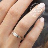 ซื้อ 555Jewelry เครื่องประดับสแตนเลส แหวนคู่รัก สไตล์แหวนเรียบ ดีไซน์สวย ประดับเพชรCz สลักคำ Forever Love รุ่น Azr R002 สีโรสโกลด์ R33 แหวนผู้หญิง แหวนคู่ แหวนคู่รัก เครื่องประดับ แหวนผู้ชาย แหวนแฟชั่น สมุทรปราการ