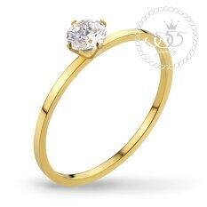 ซื้อ 555Jewelry แหวนชูประดับ Cz Tiny Ring รุ่น Mnc R514 B Yellow Gold R62 แหวนผู้หญิง แหวนคู่ แหวนคู่รัก เครื่องประดับ แหวนทองผู้หญิง แหวนแฟชั่น สมุทรปราการ