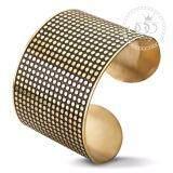 ส่วนลด 555Jewelry กำไลข้อมือสำหรับสุภาพสตรี ลาย Dot Texture รุ่น Mnc Bg114 B Yellow Gold กำไลข้อมือ กำไลข้อมือหญิง กำไลข้อมือคู่ กำไลข้อมือทอง 555Jewelry ไทย