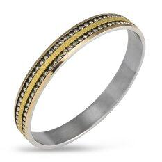 ขาย 555Jewelry กำไลสำหรับสุภาพสตรี รุ่น Fsbg14 2 Gold สร้อยข้อมือ สร้อยข้อมือผู้หญิง สร้อยข้อมือคู่ สร้อยข้อมือทอง กำไลข้อมือหญิง ข้อมือสแตนเลส เป็นต้นฉบับ