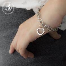ขาย 555Jewelry สร้อยข้อมือ รุ่น Mnbr 002P C Pink Gold สร้อยข้อมือ สร้อยข้อมือผู้หญิง สร้อยข้อมือคู่ สร้อยข้อมือทอง กำไลข้อมือหญิง ข้อมือสแตนเลส ผู้ค้าส่ง