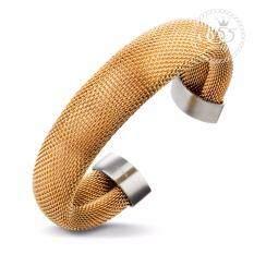 ทบทวน ที่สุด 555Jewelry กำไลข้อมือ รุ่น Mnc Bg024 C Pink Gold กำไลข้อมือ กำไลข้อมือหญิง กำไลข้อมือคู่ กำไลข้อมือทอง