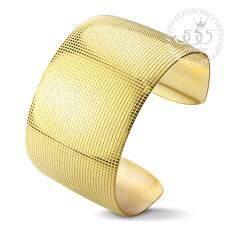 555Jewelry กำไลสำหรับสุภาพบุรุษและสุภาพสตรี รุ่น Mnc Bg107 B สี Yellow Gold กำไลข้อมือ กำไลข้อมือหญิง กำไลข้อมือคู่ กำไลข้อมือทอง ไทย