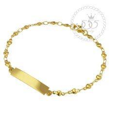 ราคา 555Jewelry สร้อยข้อมือสำหรับสุภาพสตรี รุ่น Mnc Br052 B Yellow Gold Br 6 สร้อยข้อมือ สร้อยข้อมือผู้หญิง สร้อยข้อมือคู่ สร้อยข้อมือทอง กำไลข้อมือหญิง ข้อมือสแตนเลส เป็นต้นฉบับ 555Jewelry