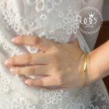 ราคา 555Jewelry สร้อยข้อมือดีไซน์เรียบ สร้อยข้อมือ เลสข้อมือ สแตนเลสสตีล รุ่น Mnc Br398 B สี ทอง สร้อยข้อมือ สร้อยข้อมือชาย สร้อยข้อมือคู่ สร้อยข้อมือทอง กำไลข้อมือชาย ข้อมือสแตนเลส 555Jewelry ใหม่