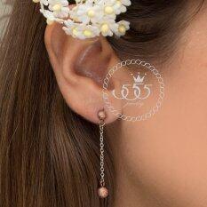ขาย 555Jewelry ต่างหูสำหรับสุภาพสตรี รุ่น Mnc Er071 C Pink Gold ต่างหู ต่างหูแฟชั่น ต่างหูหนีบ ต่างหูทอง ต่างหูเงิน ต่างหูผู้หญิง 555Jewelry ผู้ค้าส่ง