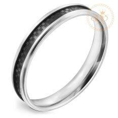 ราคา 555Jewelry แหวน รุ่น Mnc R018 Bk สี Black R53 แหวนผู้หญิง แหวนคู่ แหวนคู่รัก เครื่องประดับ แหวนผู้ชาย แหวนแฟชั่น 555Jewelry ออนไลน์