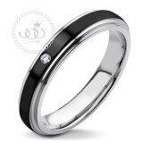 ขาย 555Jewelry แหวนดีไซน์สวยงาม รุ่น Mnc R120 D สี Black แหวนคู่รัก แหวนคู่ แหวนผู้ชายเท่ๆ แหวนแฟชั่นชาย แหวนผู้ชาย แหวนของผู้ชาย ออนไลน์ ไทย