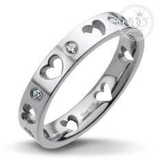 ขาย 555Jewelry แหวน รุ่น Mnc R139 A สี Steel แหวนผู้หญิง แหวนคู่ แหวนคู่รัก เครื่องประดับ แหวนผู้ชาย แหวนแฟชั่น 555Jewelry เป็นต้นฉบับ