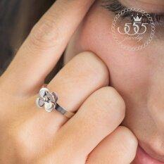 ซื้อ 555Jewelry แหวน รุ่น Mnc R149 A Steel แหวนผู้หญิง แหวนคู่ แหวนคู่รัก เครื่องประดับ แหวนผู้ชาย แหวนแฟชั่น 555Jewelry
