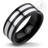 ซื้อ 555Jewelry แหวน รุ่น Mnc R210 D Black R101 แหวนคู่รัก แหวนคู่ แหวนผู้ชายเท่ๆ แหวนแฟชั่นชาย แหวนผู้ชาย แหวนของผู้ชาย ใหม่ล่าสุด