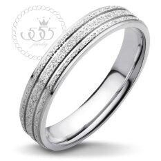 ขาย 555Jewelry แหวน รุ่น Mnc R304 A สี Steel R6 แหวนคู่รัก แหวนคู่ แหวนผู้ชายเท่ๆ แหวนแฟชั่นชาย แหวนผู้ชาย แหวนของผู้ชาย เป็นต้นฉบับ