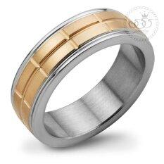 ส่วนลด 555Jewelry แหวน รุ่น Mnc R394 C Pink Gold แหวนผู้หญิง แหวนคู่ แหวนคู่รัก เครื่องประดับ แหวนผู้ชาย แหวนแฟชั่น 555Jewelry ใน ไทย