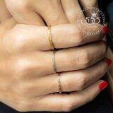 ขาย 555Jewelry แหวนดีไซน์สวยงาม รุ่น Mnc R407 C Pink Gold แหวนผู้หญิง แหวนคู่ แหวนคู่รัก เครื่องประดับ แหวนผู้ชาย แหวนแฟชั่น ถูก ไทย