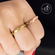 ขาย 555Jewelry แหวนเเฟชั่น รุ่น Mnc R561 C Pink Gold แหวนผู้หญิง แหวนคู่ แหวนคู่รัก เครื่องประดับ แหวนผู้ชาย แหวนแฟชั่น ราคาถูกที่สุด