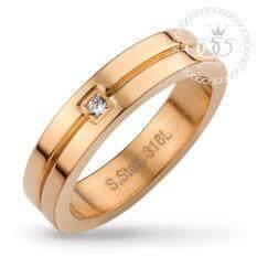 ซื้อ 555Jewelry แหวน รุ่น Mnc R562 Cแหวนผู้หญิง แหวนคู่ แหวนคู่รัก เครื่องประดับ แหวนผู้ชาย แหวนแฟชั่น 555Jewelry ออนไลน์