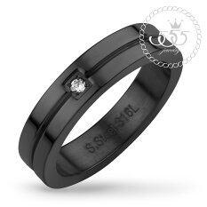 ราคา 555Jewelry แหวน รุ่น Mnc R562 D Black แหวนคู่รัก แหวนคู่ แหวนผู้ชายเท่ๆ แหวนแฟชั่นชาย แหวนผู้ชาย แหวนของผู้ชาย ใหม่ล่าสุด